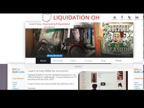 Tips and Tricks Winning and Bidding to Liquidation.com and eBay reselling items
