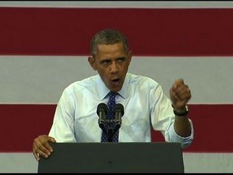 """Obama: """"I need Ed Markey in the U.S. Senate"""""""