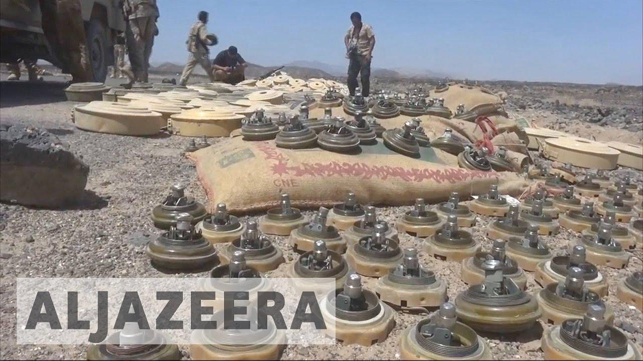Houthi landmines kill hundreds in Yemen