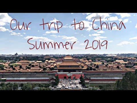Last Summer | Our Trip To China Together!