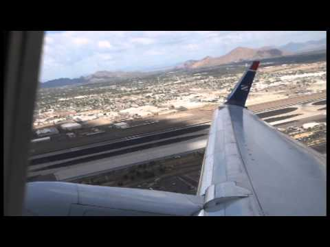 [HD] American Airlines 757-200 takeoff from Phoenix sky Harbor international Airport
