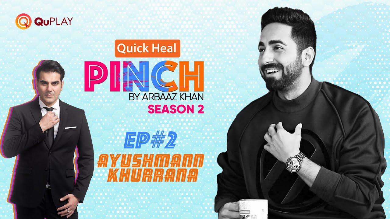 #QuickHealPinch by Arbaaz Khan S2 Ep#2   Ayushmann Khurrana   Official Episode 2