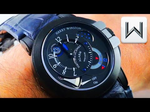 Harry Winston Ocean Project Z6 Alarm Watch Limited Edition (400-MMAC44ZK) Luxury Watch Review