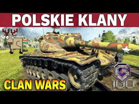 POLSKIE KLANY - G100 vs WHYOU - Bitwy Klanowe - World of Tanks