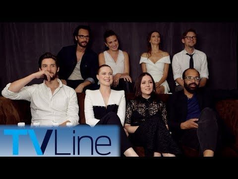 Westworld Cast on Emmys, The Park's Gift Shop, Threesomes  ComicCon 2017  TVLine