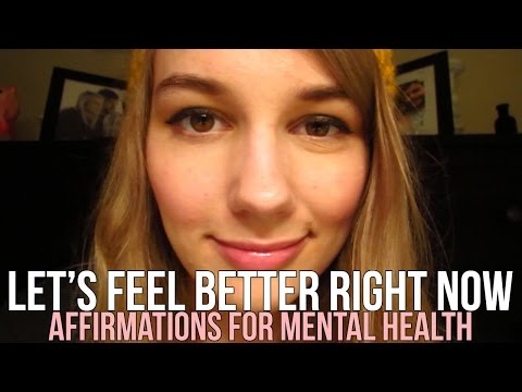 [BINAURAL ASMR] Let's Feel Better Right Now: Affirmations for Mental Health (ear to ear whispering)
