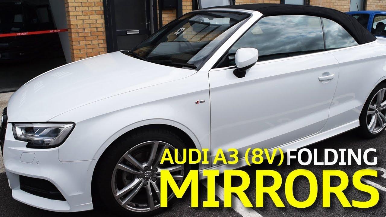 Audi A3 (8V) Genuine Folding Mirror Retrofit