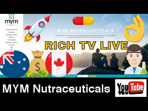 Cannabis Stocks to Own in 2018 - MYM Nutraceuticals Inc. (MYM) ( MYMMF) - RICH TV LIVE