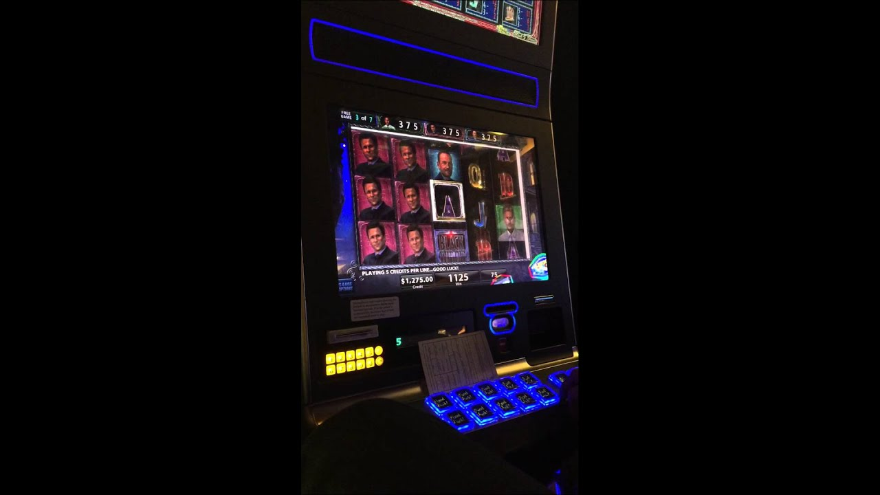 Slot Machine Black Deluxe