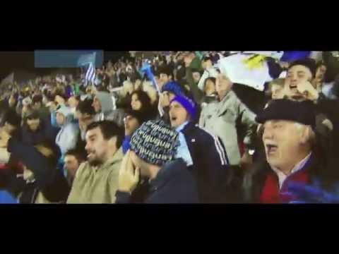 La hinchada de Punta Cable: Uruguay vs Colombia (avance)