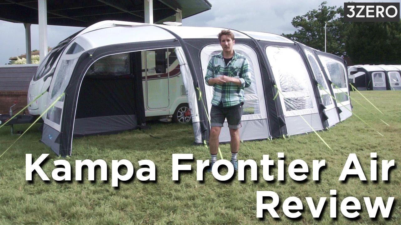 Kampa Frontier Air Caravan Awning Review