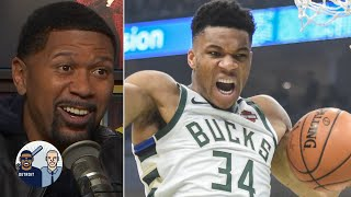 Jalen Rose reacts to Giannis dropping 37 points in under 22 minutes | Jalen & Jacoby