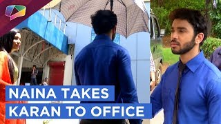 Naina Takes Karan To Office | Ek Shringaar Swabhimaan | Colors Tv