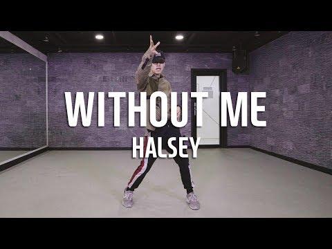 HALSEY - WITHOUT ME / Jong Ho Park Koreografi Tari