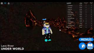 Seria z roblox czy to się uda? Zwiedzanie spawn under world. Find the noob roblox #1