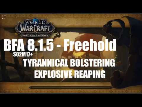 WoW BFA 8.1.5 | Freehold 17 | Blood DK POV