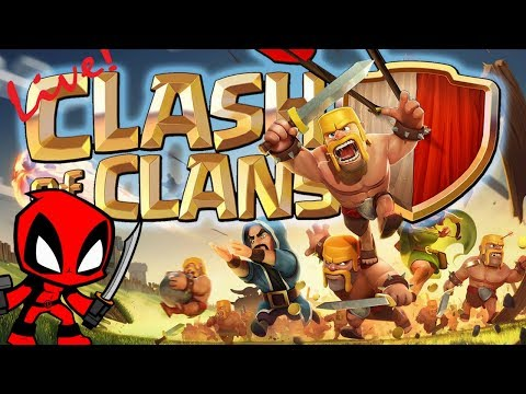 ROOKIE PLAYING CLASH OF CLANS | COC LIVE | HINDI/ENGLISH COMMENTARY | LIVE #54