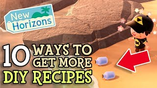 Animal Crossing New Horizons 10 Ways To Get More Diy Recipes In Acnh  Get 2 Message Bottles Per Day