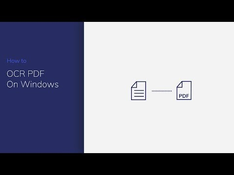 OCR PDF On Windows With PDFelement (PDF To Editable Text)