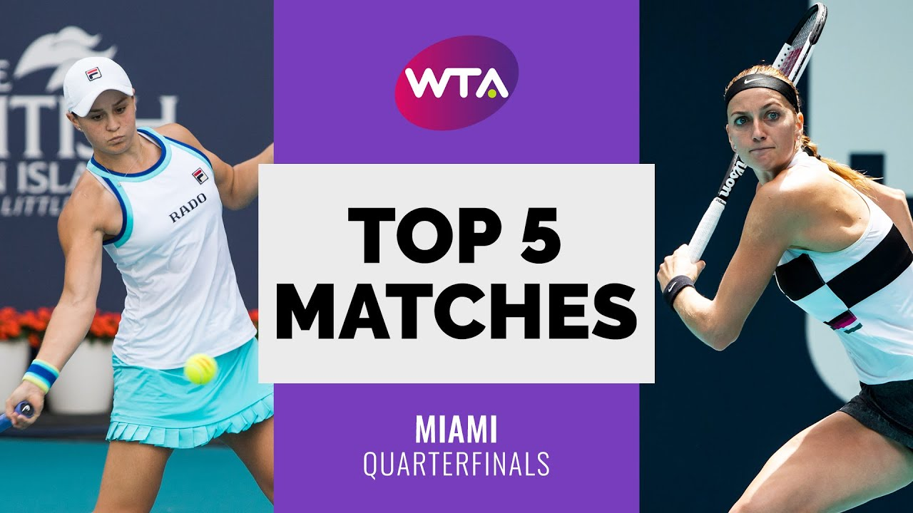 Miami | Top 5 Quarterfinal Matches