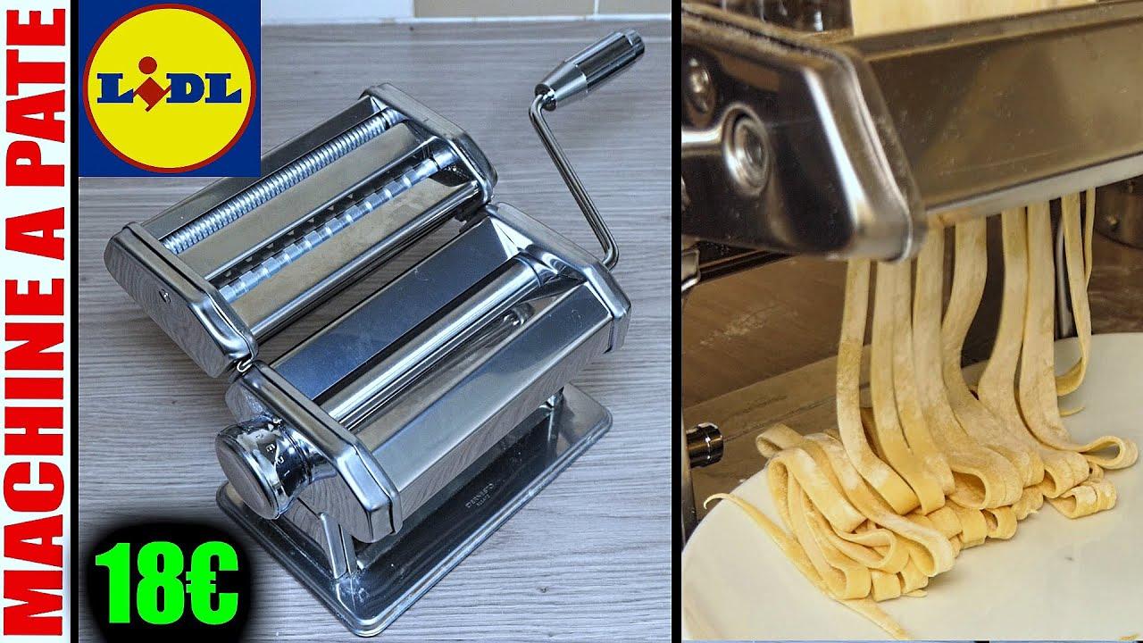 Download machine à pâtes lidl + préparation de la pâte au robot pâtissier de cuisine HAUSWIRT HM740