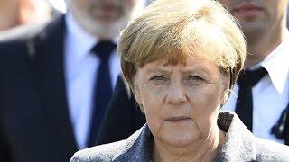 """Angela Merkel in Heidenau - """"Beschämend und abstoßend, was wir hier erleben mussten"""""""
