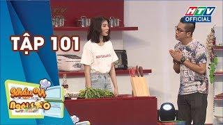 KHẨU VỊ NGÔI SAO | Kim Nhã hào hứng đi chợ sớm mua nguyên liệu nấu ăn | KVNS #101 FULL | 16/6/2019