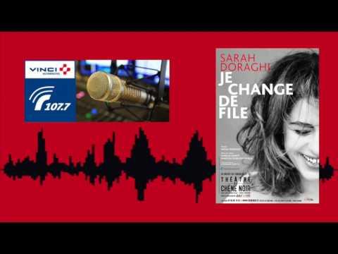 Sarah Doraghi - Je Change de File | RADIO VINCI AUTOROUTES