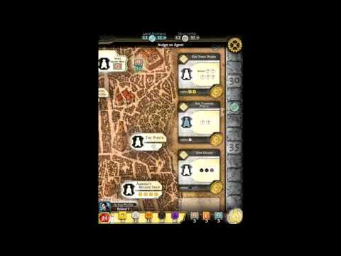 Lords of Waterdeep - iOS iPad App | Gameplay Review | German |