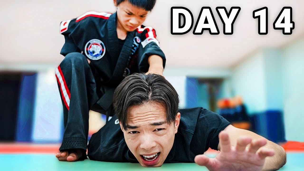 Surviving 30 Days of Shaolin Kung Fu Training - Week 2