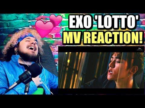 EXO 엑소 'Lotto' MV | BAEKHYUN'S LIP BITE IS TOO MUCH! | REACTION!!