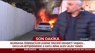 #SONDAKİKA Bursa'da öğrenciler karne dehşeti yaşadı