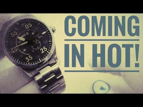 Calling Aviation Buffs! Spitfire Automatic Pilot Watch