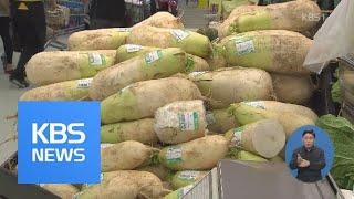 된장 등 가공식품 50%, 한 달 새 가격 상승…김치 …