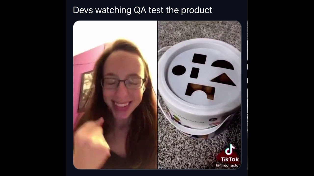Download Devs watching QA test the product