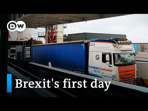 All eyes on new post-Brexit EU-UK customs border | DW News