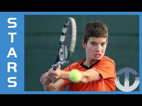 Borna Devald | 13-Year-Old Tennis Talent | Croatia's Next Big Star?