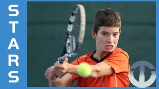 Borna Devald | 13-Year-Old Tennis Talent | Croatia's Next Big Star?