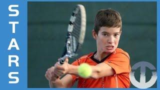 Borna Devald | 13-Year-Old Tennis Talent | Croatia
