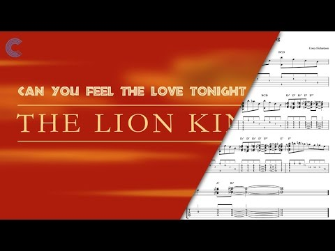 Flute - Can You Feel The Love Tonight - The Lion King -  Sheet Music, Chords, & Vocals