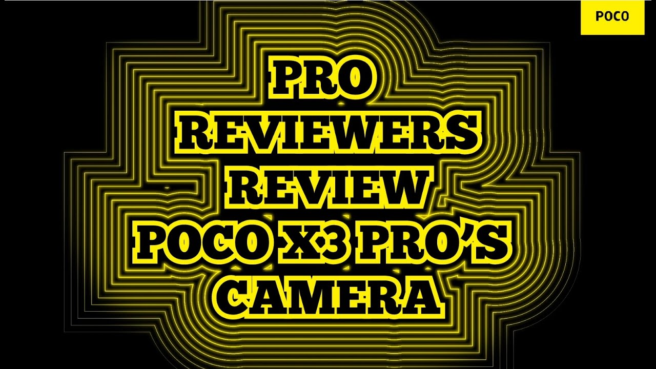 PRO REVIEWERS REVIEW PROFORMANCE | Camera