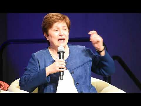 Human Capital, World Bank Group Chief Executive Officer, Kristalina Georgieva