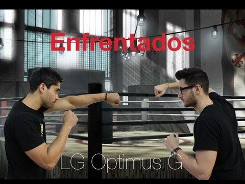 Enfrentados por el LG Optimus G