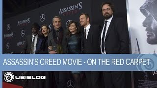 Assassin39;s Creed Movie On the Red Carpet  Ubisoft NA