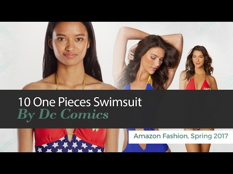 10 One Pieces Swimsuit By Dc Comics Amazon Fashion, Spring 2017