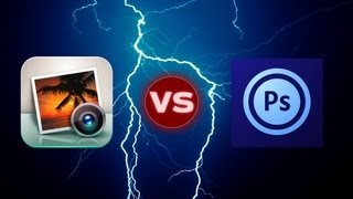 iPhoto for iPad vs. Photoshop Touch | Pocketnow