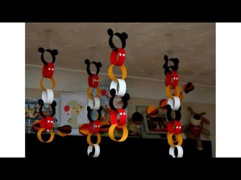 Mickey mouse decoraciones ideas