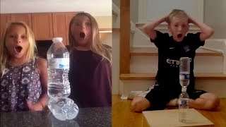 10 ЛУЧШИХ ЧЕЛЕНДЖ бутылка с водой челендж бутылка воды    Water Bottle Flip Challenge