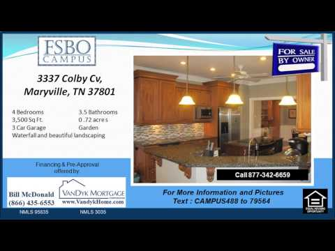 4 Bedroom Home For Sale near Carpenters Elementary School in Maryville TN