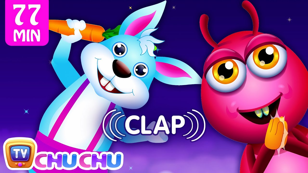 If You're Happy And You Know It and More Videos | Popular Nursery Rhymes Collection by ChuChu T